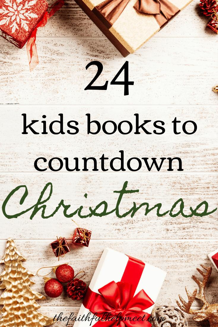 24 books to countdown to christmas